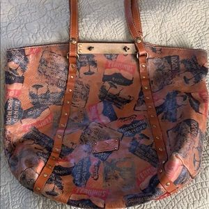 Patrcia Nash Travel Large Tote Purse + Mini